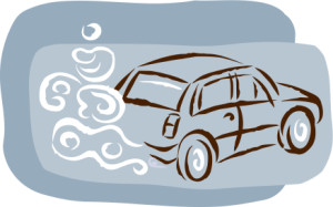 Bußgeld für unnötige Autoabgase