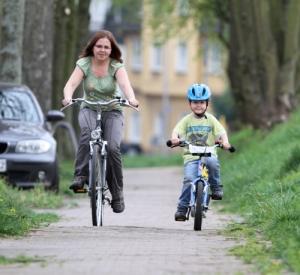 Bußgeld für Kind auf dem Fahrrad