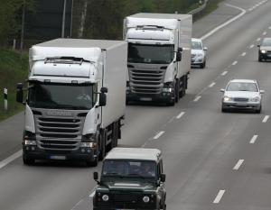 Geschwindigkeitsüberschreitungen von Lkw außerorts