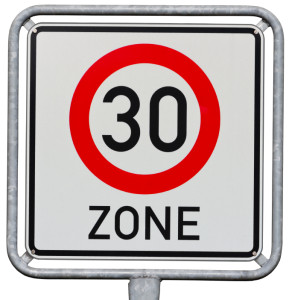 Tempo-30er-Zone