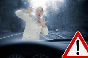 Wie reagieren autonome Autos bei Unfällen?