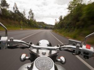 Oftmals ist ein Motorradunfall tödlich.
