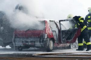Ein tödlicher Autounfall kommt fast täglich in Deutschland vor.