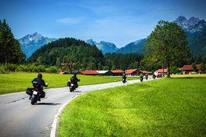 Ein Unfall mit dem Motorrad kann schnell passieren.