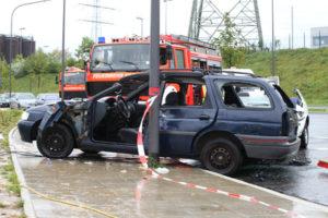 Jedes Auto erfährt einen Wertverlust nach einem Unfall.