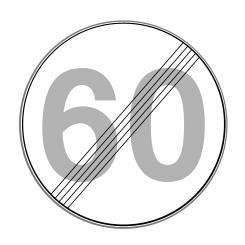 Wann endet eine Geschwindigkeitsbegrenzung? Ein entsprechendes Schild kann dies anordnen.