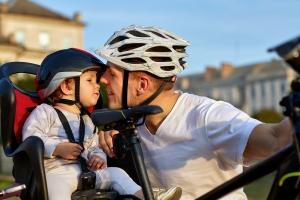 Auch für das Fahrradfahren in der Fußgängerzone existieren Vorschriften.